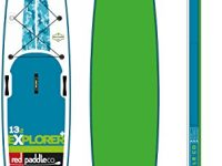 "2017 Red Paddle Co. Explorer 13'2"" x 30"" Inflatable Paddleboard Package"